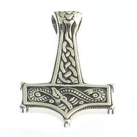 Silverpendant Thor`s Hammer
